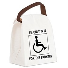 In It For The Parking Canvas Lunch Bag