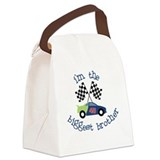 biggest brother race Canvas Lunch Bag