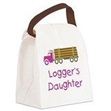 Logger's Daughter Canvas Lunch Bag