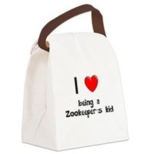 Zoo Canvas Lunch Bag