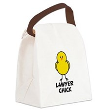 Lawyer Chick Canvas Lunch Bag