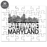 Baltimore Skyline Puzzle