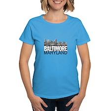Baltimore Skyline Tee