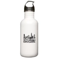 Charlotte Skyline Water Bottle