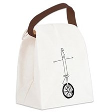 Unicycle Canvas Lunch Bag