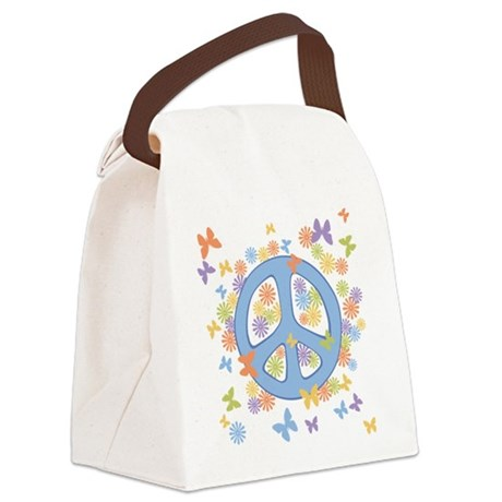 peace_n_buts2.png Canvas Lunch Bag