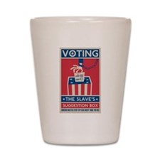 Voting Shot Glass