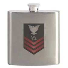 Navy Operations Specialist First Class Flask