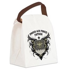 Proud Air Force Father Canvas Lunch Bag