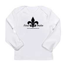 Pam's Fleur De Lis Tattoo Long Sleeve Infant T-Shi