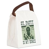 St. Patty is my Homie Canvas Lunch Bag
