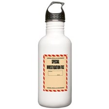Special Investigation File Water Bottle