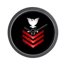 Navy Sonar Technician First Class Wall Clock