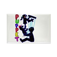 puppets Rectangle Magnet (100 pack)