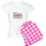 Women for Romney Ryan 2012, Pink/Blue pajamas