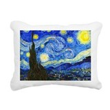 Van Gogh - Starry Night Rectangular Canvas Pillow