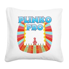 Plinko Pro Square Canvas Pillow