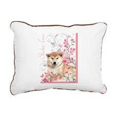 blossom.png Rectangular Canvas Pillow