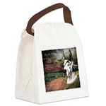 godmadedogs3.png Canvas Lunch Bag