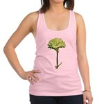 GREEN-CARNATION_NEW.png Racerback Tank Top