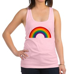 rainbow-arc.png Racerback Tank Top