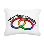 marriage-equality_tr.png Rectangular Canvas Pillow