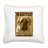 10-Wanted _V2.png Square Canvas Pillow