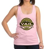 Vail Green Racerback Tank Top