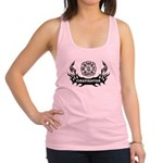 Firefighter Tattoo Racerback Tank Top