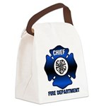 Fire Chief Canvas Lunch Bag