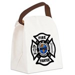 Firefighter Recycle Canvas Lunch Bag