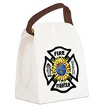 Firefighter Solar Canvas Lunch Bag