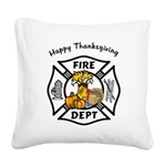 FF thanksgiving redone.png Square Canvas Pillow