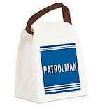 patrolman blues mousepad.jpg Canvas Lunch Bag