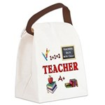 Teachers Do It With Class Canvas Lunch Bag