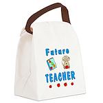 Future Teacher Canvas Lunch Bag