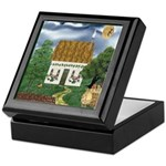 Storm Cottage Version 2 Keepsake Box