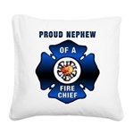 Proud Nephew Redone.png Square Canvas Pillow