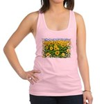 Sunflowers Racerback Tank Top