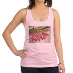 Pink Tulips In Bloom Racerback Tank Top