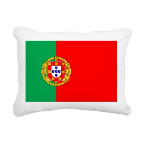 portuguese_flag.gif Rectangular Canvas Pillow