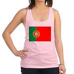 portuguese_flag.gif Racerback Tank Top