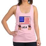 USA American Flag Pug Dogs T-Shirts and Gifts