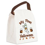 Baby's First Halloween Canvas Lunch Bag
