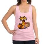 thanksgiving central redone.png Racerback Tank Top