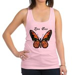 Butterfly Live Free Racerback Tank Top