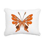 butterfly high.png Rectangular Canvas Pillow