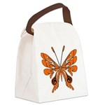 butterfly high.png Canvas Lunch Bag