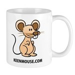 Keen Mouse Mascot Mug
