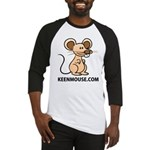 Keen Mouse Mascot Baseball Jersey